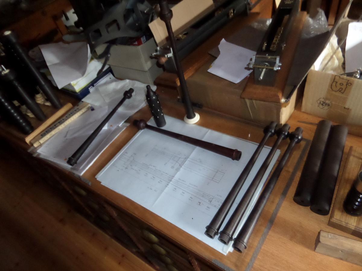 Practice Chanter Herstellung